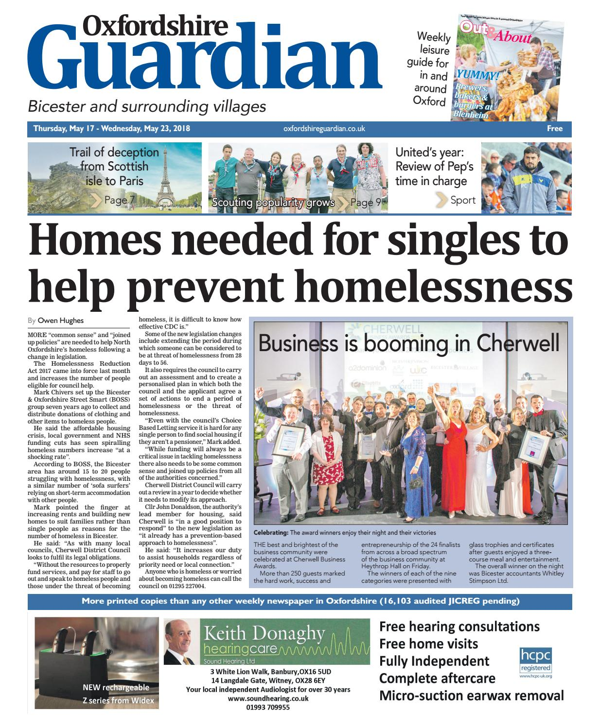 17 may 2018 oxfordshire guardian bicester by taylor newspapers issuu fandeluxe Gallery