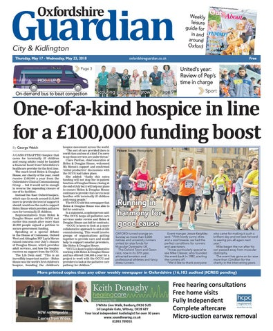 17 May 2018 Oxfordshire Guardian City By Taylor Newspapers