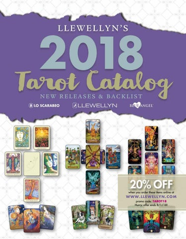 Llewellyns complete book of tarot by anthony louis by llewellyn llewellyns 2018 tarot catalog fandeluxe Choice Image