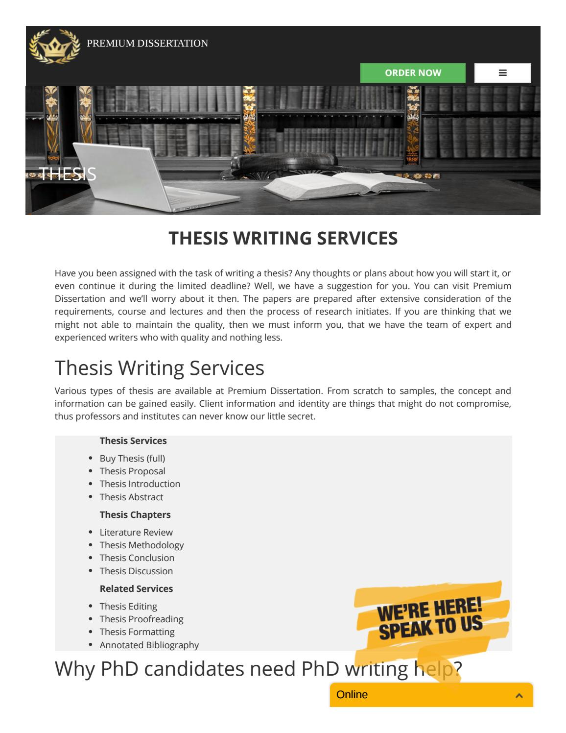 Custom dissertation chapter writer site