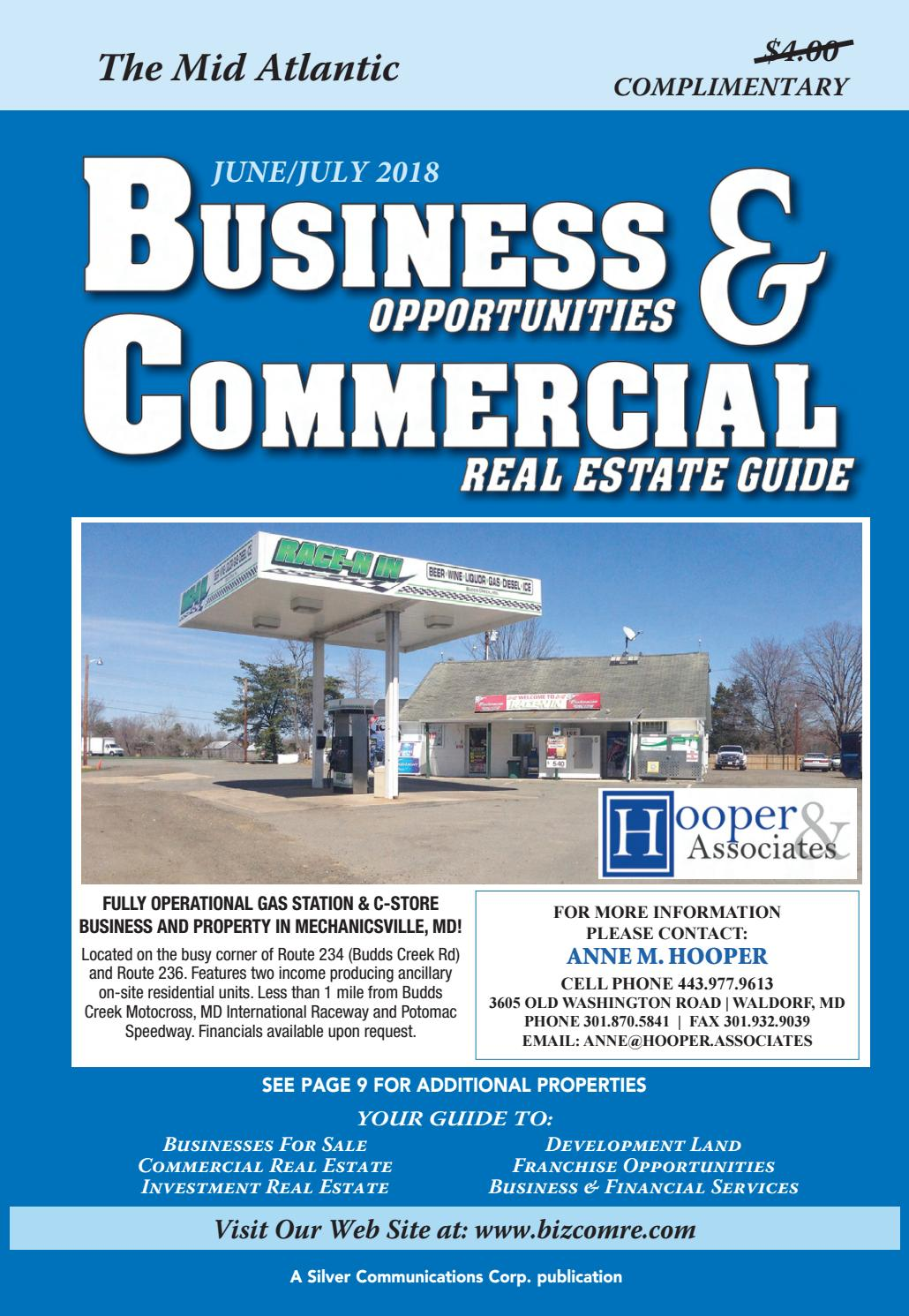 Business Opportunities & Commercial Real Estate Guide by Silver ...