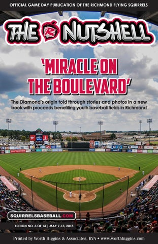 Page 1. OFFICIAL GAME DAY PUBLICATION OF THE RICHMOND FLYING SQUIRRELS.   d03ae7832