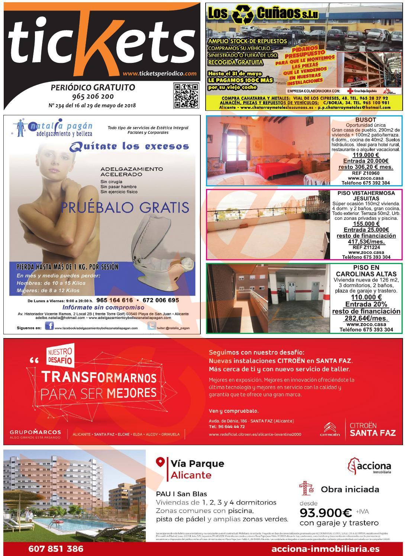 Ed 234 By Periodico Tickets Issuu