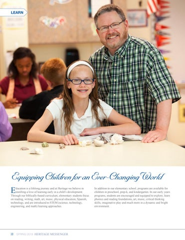 Page 10 of Learn: Early Childhood Through Grade 6 Experience