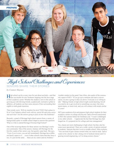 Page 16 of Prepare: Grades 7-12 Experience