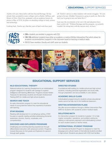 Page 27 of Educational Support Services