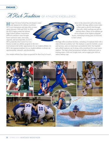 Page 36 of Engage: Athletics at HCS