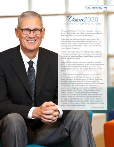 Page 3 of CEO Update // Vision 2020