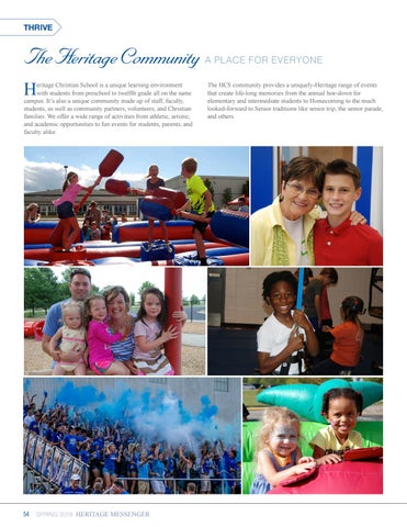 Page 54 of Thrive: Community Life at HCS