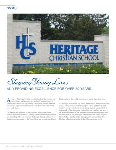 Page 6 of Focus: Our History