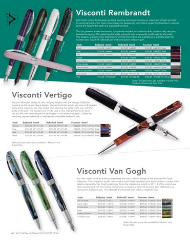 #48499 Visconti Rembrandt Special Ops Green and Black Ballpoint Pen