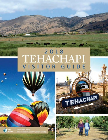 Page 1. 2018. TEHACHAPI VISITOR