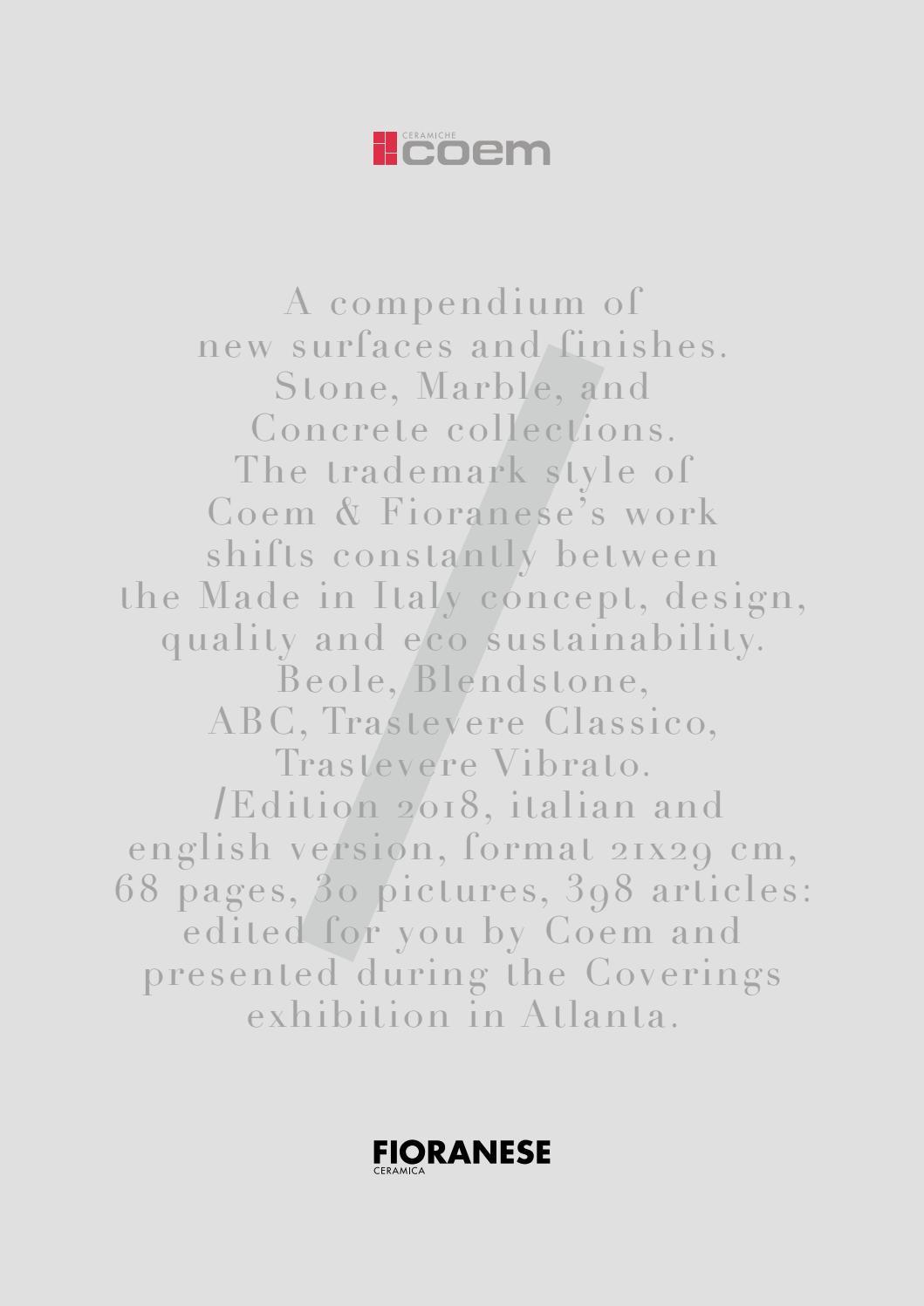 Coem Fioranese Coverings' 2018 by D-SEGNO STUDIO - issuu