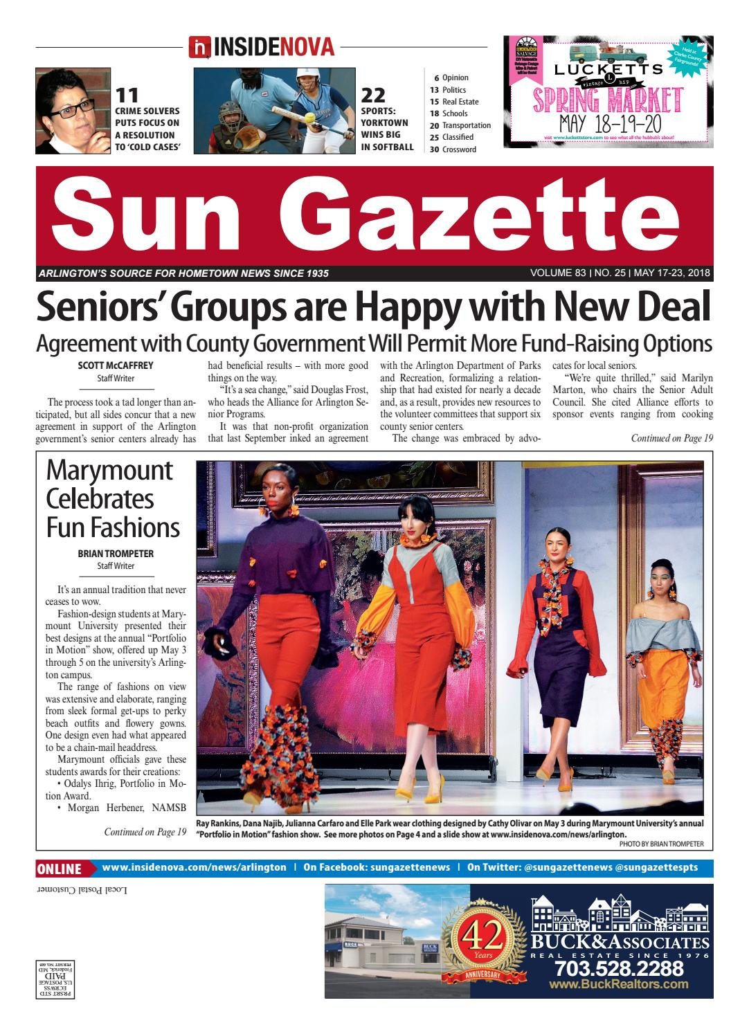 Sun Gazette Arlington, May 17, 2018 by InsideNoVa - issuu