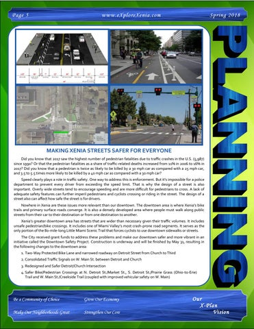 Page 5 of Making Xenia Streets Safer for Everyone