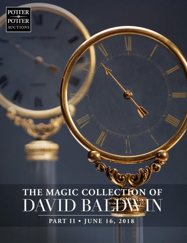 7ded7e3b50ae The Magic Collection of David Baldwin II by PotterAuctions - issuu