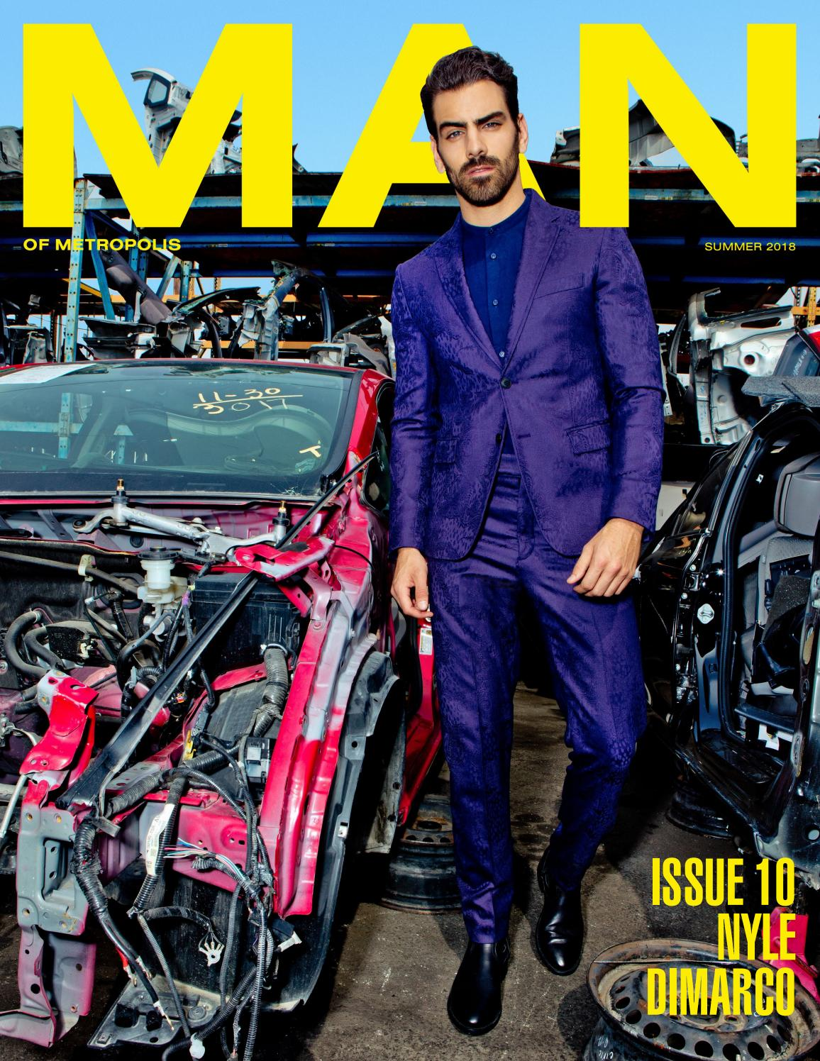 Issue 10 Nyle Dimarco By Man Of Metropolis Issuu 4 You Choir Collar Dress Orange Putih