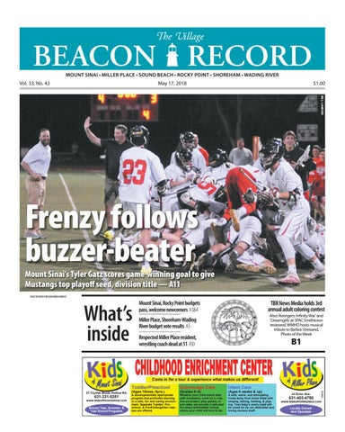 The Village Beacon Record May 17 2018 by TBR News Media issuu