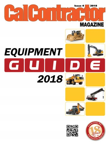 CalContractor Equipment Guide 2018 by CMS - issuu