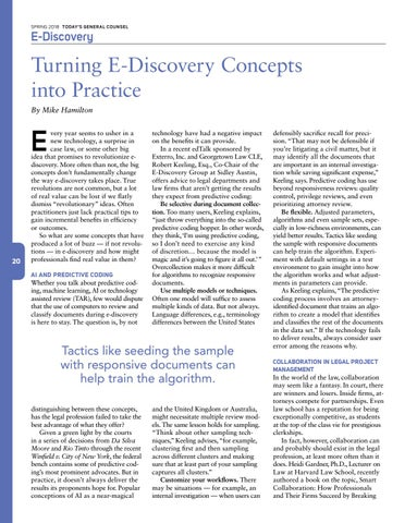 Page 22 of Turning E-Discovery Concepts into Practice
