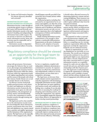 Page 33 of Information Security as a Legal/Business Partnership