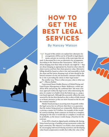 Page 56 of How to Get the Best Legal Services