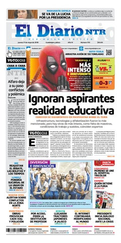 El Diario Ntr 1113 By Ntr Guadalajara Issuu
