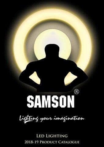 Samson Lighting Catalog 2018 By Hamir Sampat Issuu