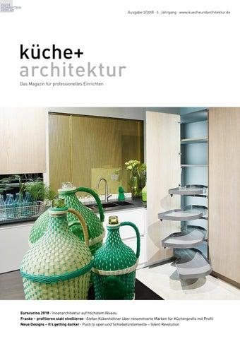 Küche + Architektur 2/18 By Fachschriften Verlag   Issuu