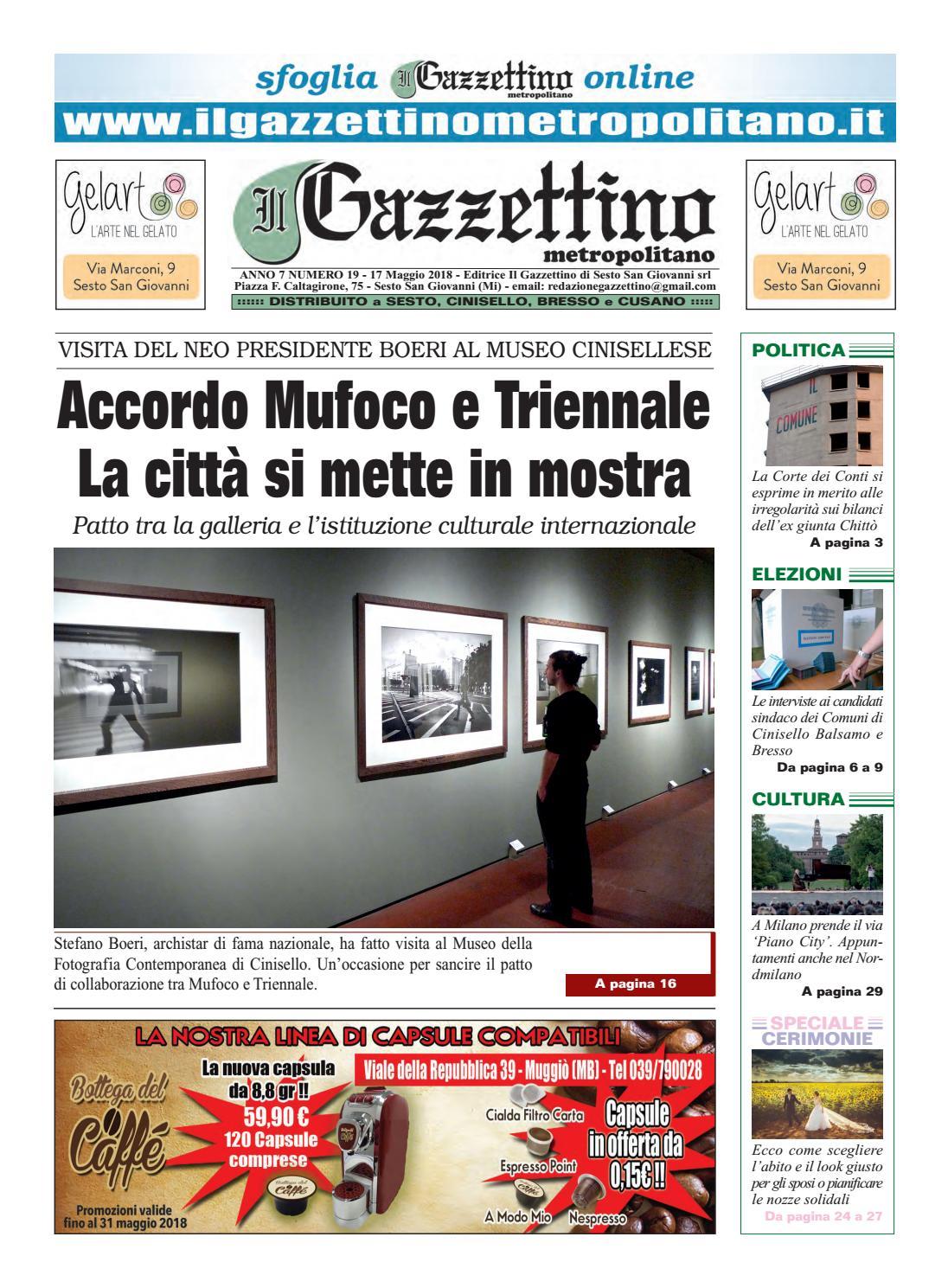 19 gazzettino 17 5 18 by Il Gazzettino di Sesto San Giovanni