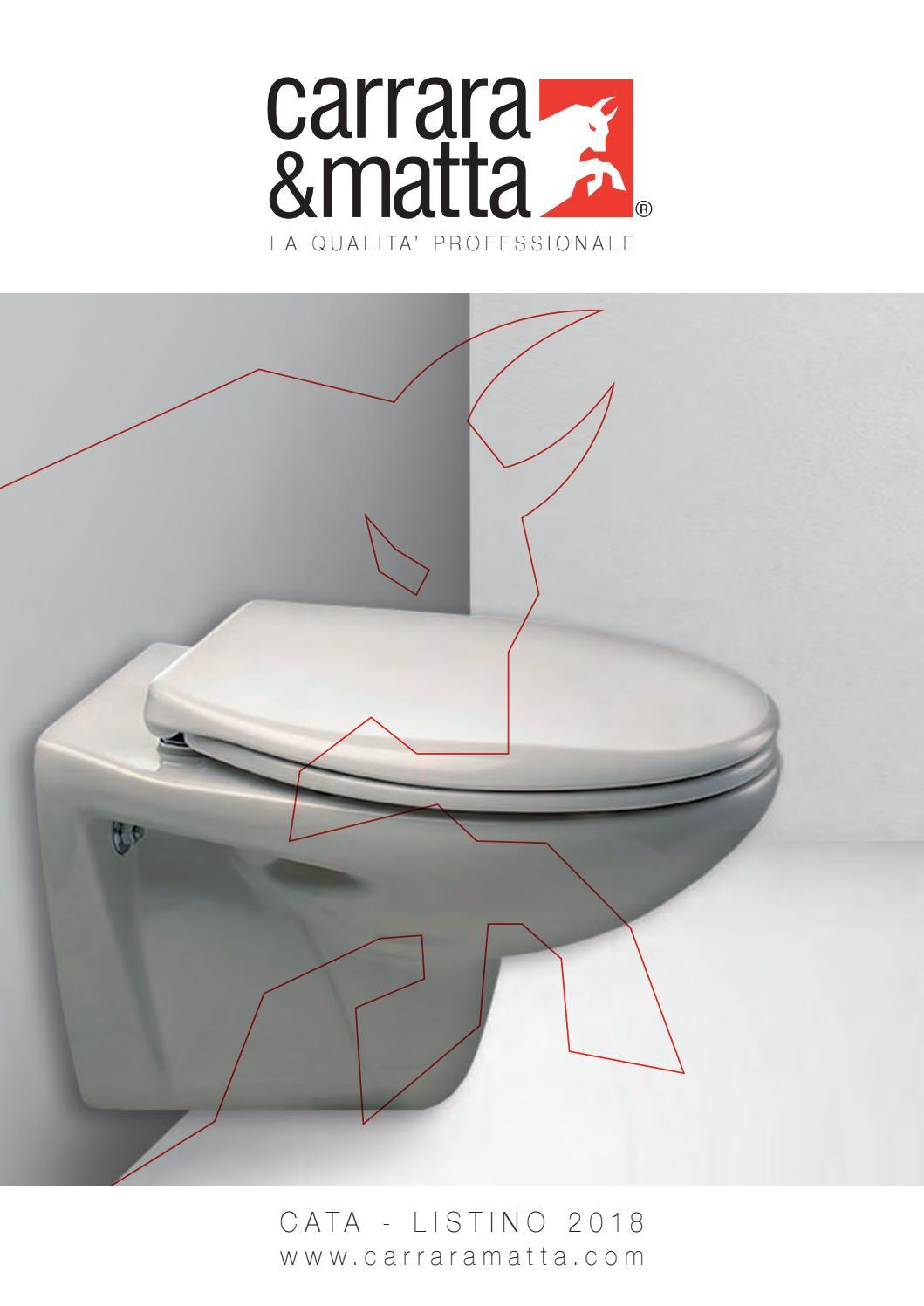 hot sale online 5df93 c10a9 2018 Carrara & Matta Catalogo - Italia by BemisEMEA - issuu