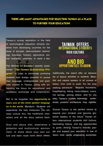 Page 7 of Why To Study in Taiwan