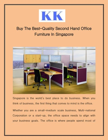 The Best Quality Second Hand Office