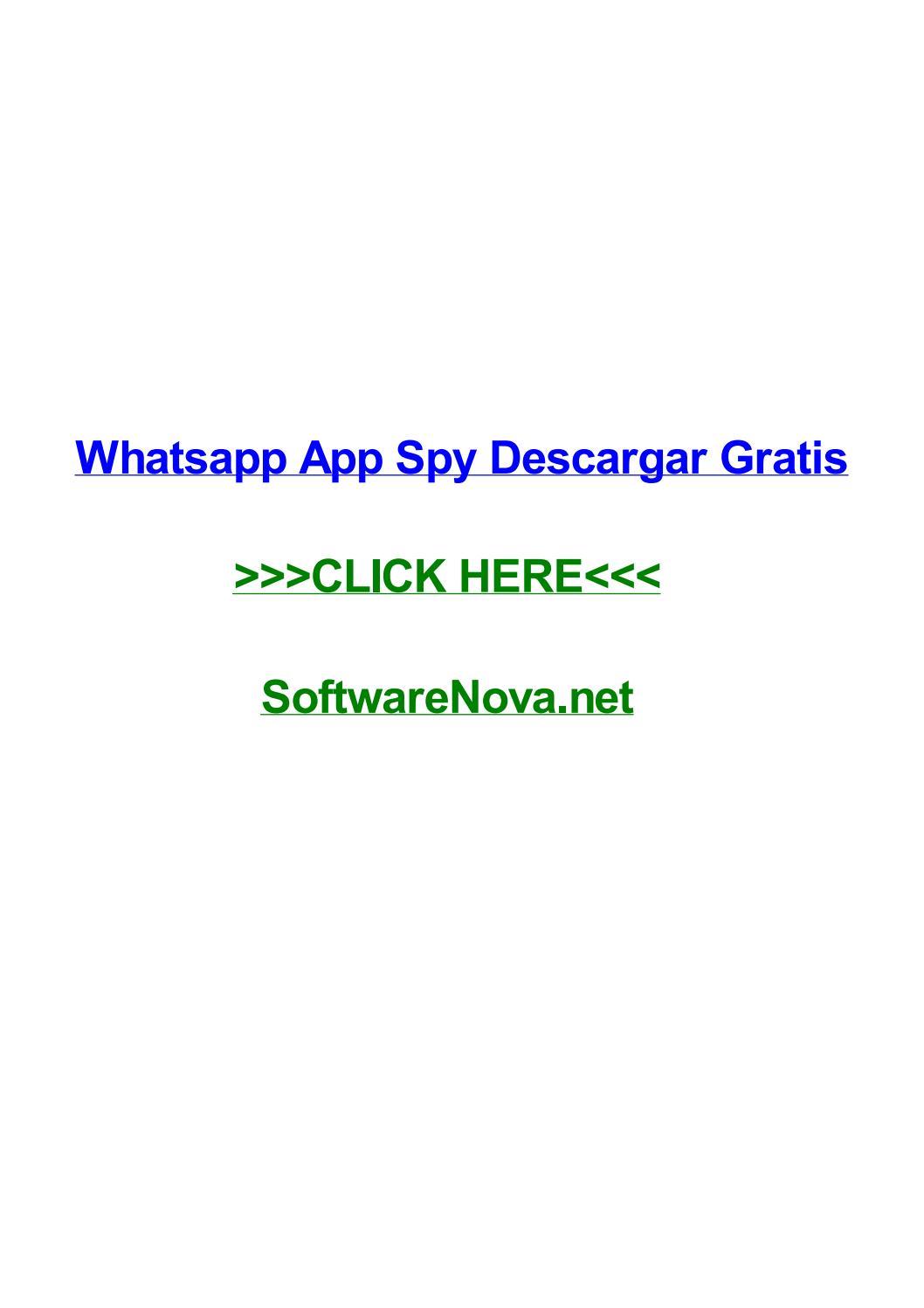 Spy software whatsapp kostenlos
