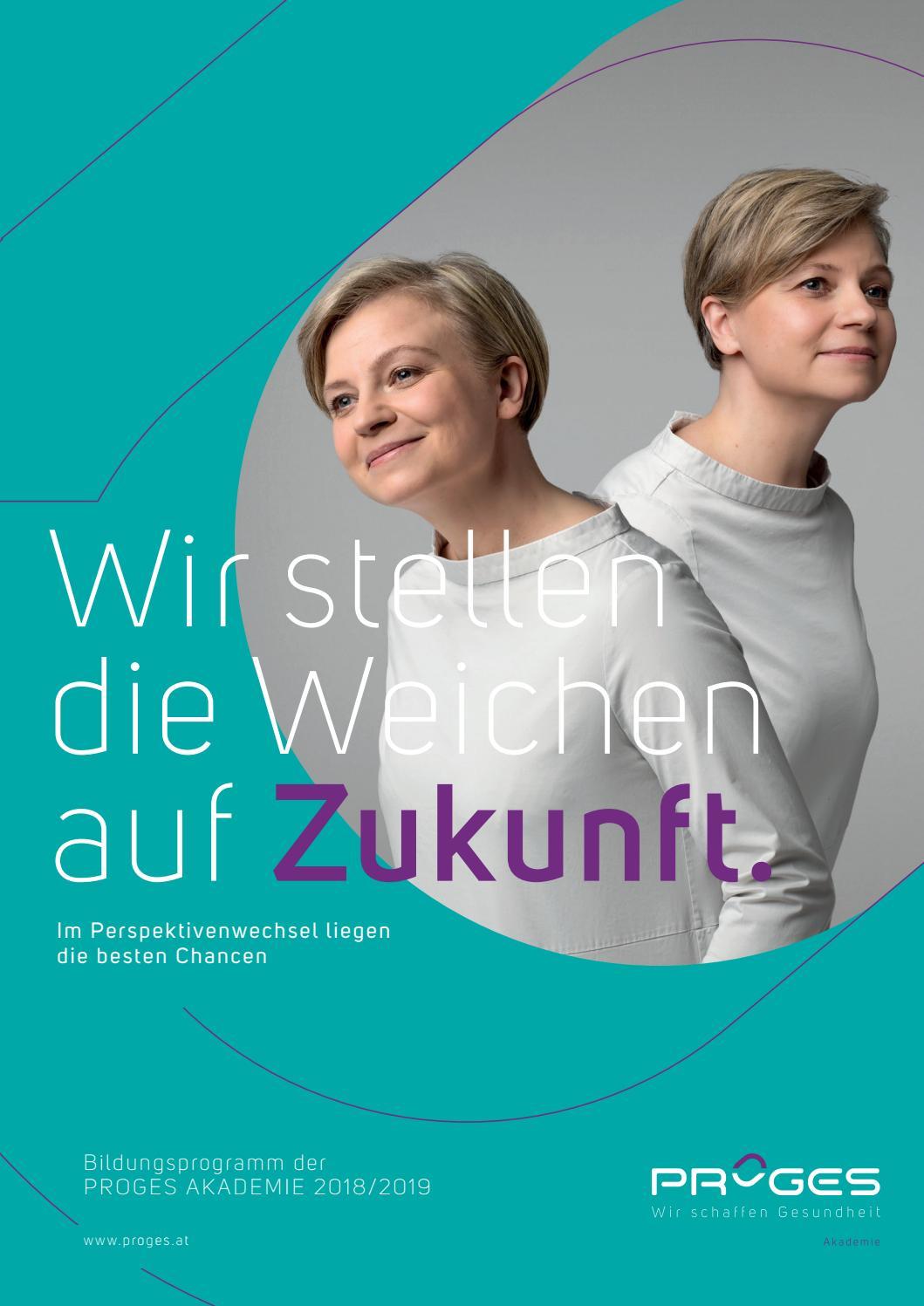 PROGES Bildungsprogramm 2018/19 Ansicht by PROGES (vormals PGA) - issuu