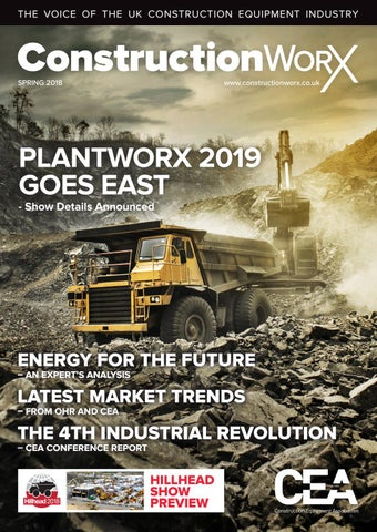 ConstructionWorX - Spring 2018 by Construction Equipment
