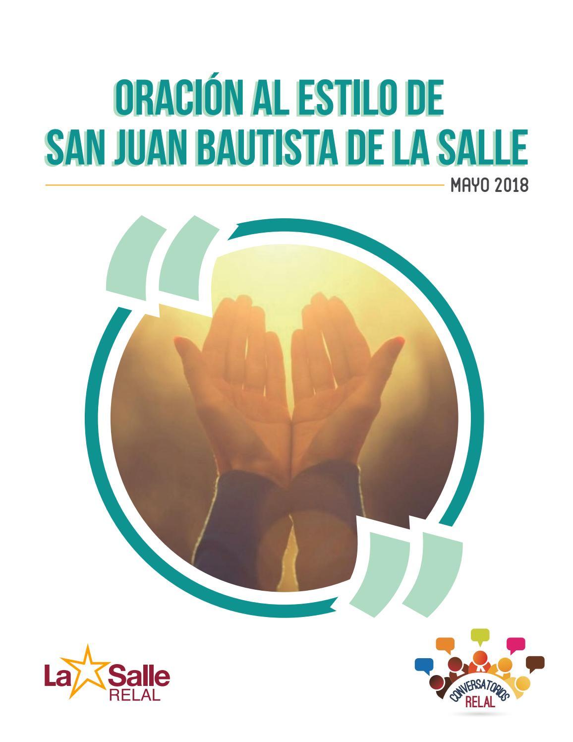 Conversatorio Relal Oración Al Estilo De San Juan Bautista