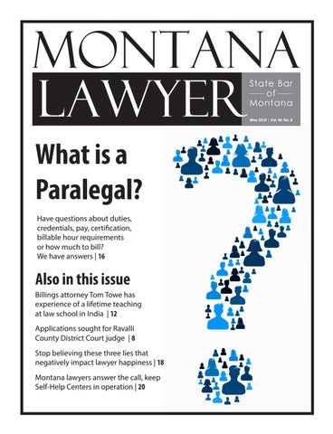 May 2018 montana lawyer web by State Bar of Montana - issuu