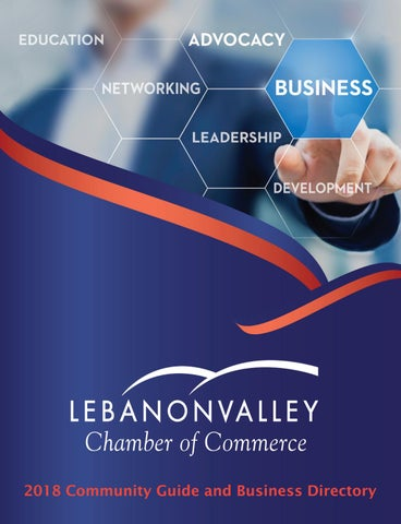 2018 Lebanon Valley Chamber of Commerce Community Guide and