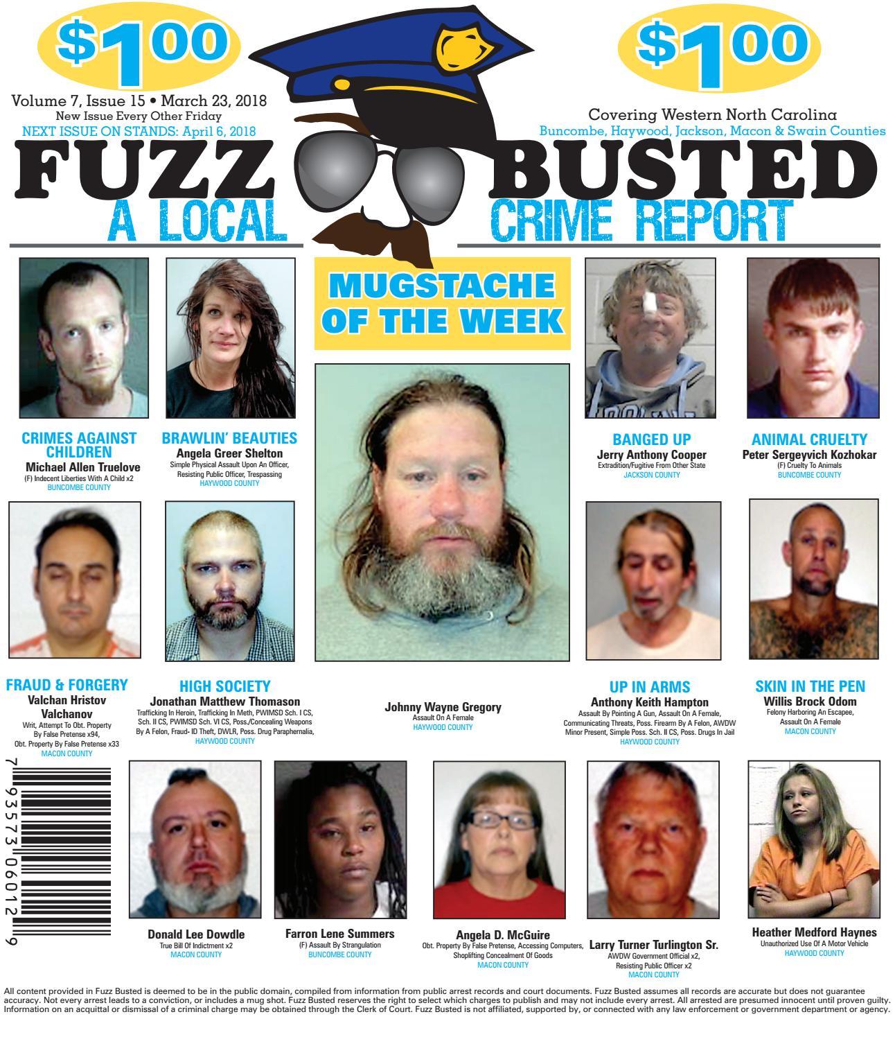 Volume 7 Issue 15 • March 23, 2018 by Fuzz Busted - issuu