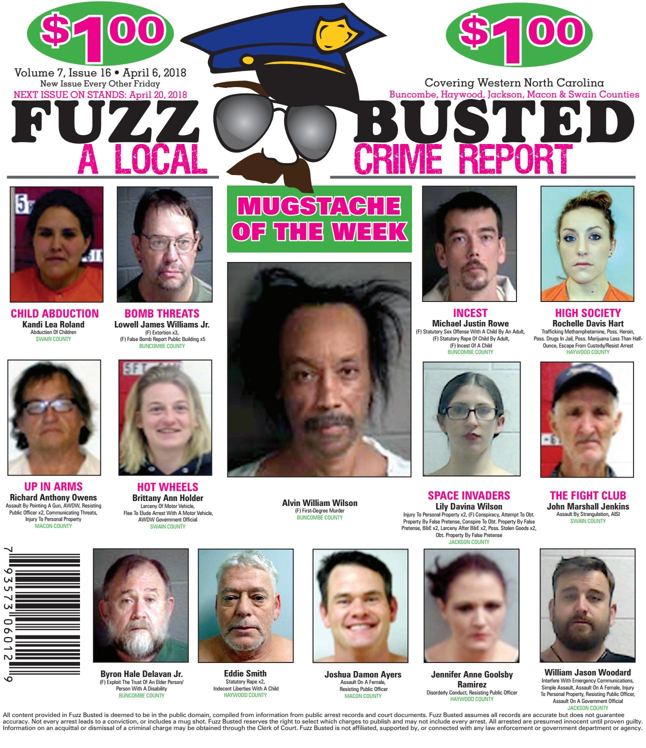 Volume 7 Issue 16 • April 06, 2018 by Fuzz Busted - issuu