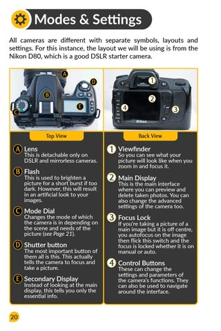 Page 22 of Camera Modes