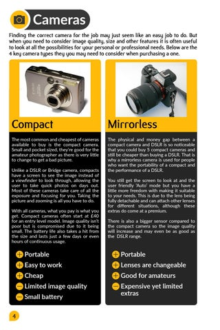 Page 6 of Camera Types