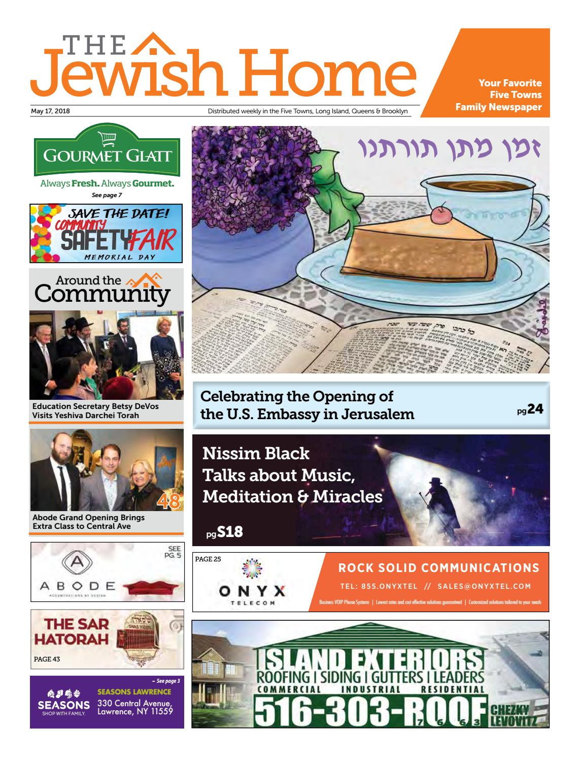 Five Towns Jewish Home - 5-17-18 by Yitzy Halpern - issuu