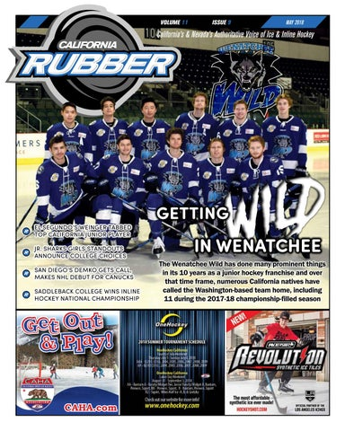24e0cb4b7d9 California Rubber Magazine - May 2018 by Rubber Hockey Magazines - issuu