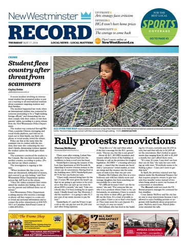 8badac7a56c New Westminster Record May 17 2018 by Royal-City-Record - issuu