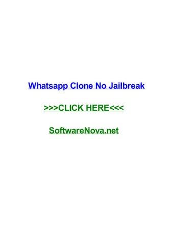Whatsapp clone no jailbreak by moniquemqiaz - issuu