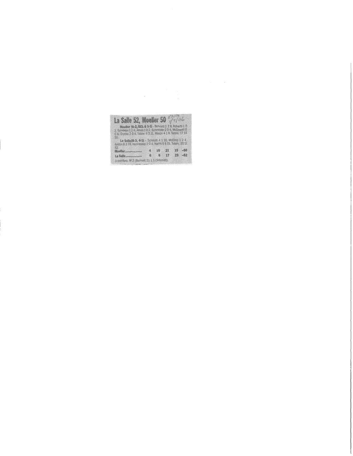 Moeller High School 2005 06 Basketball Articles By Archbishop Moeller High  School   Issuu