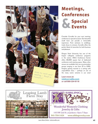 Page 43 of Meetings & Conferences