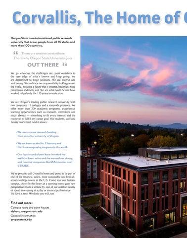Page 6 of Oregon State University